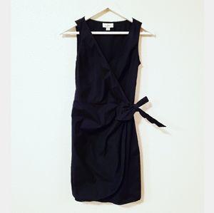 Ann Taylor LOFT Faux Wrap Sleeveless Dress